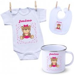 Sada se jménem dítěte Medvídek Dívka