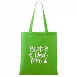 Zelená taška Best dad ever
