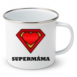 Smaltovaný hrnek Supermáma