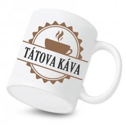 Keramický hrnek Tátova káva