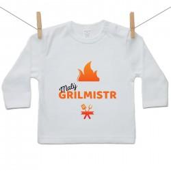 Tričko s dlouhým rukávem Malý grilmistr