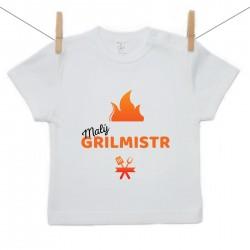 Tričko s krátkým rukávem Malý grilmistr
