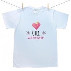 Pánské triko s krátkým rukávem Otec malé princezničky