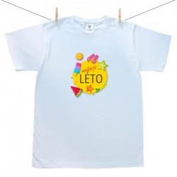 Pánské triko s krátkým rukávem Miluji léto