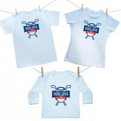 Rodinná sada (tričko s dlouhým rukávem) Hokejová rodina