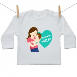 Tričko s dlouhým rukávem Maminčin poklad