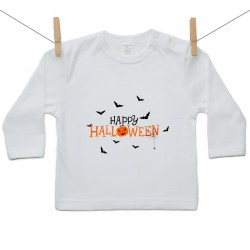 Tričko s dlouhým rukávem Happy Halloween