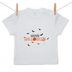 Tričko s krátkým rukávem Happy Halloween