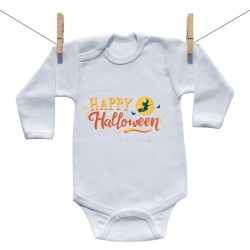 Body s dlouhým rukávem Happy Halloween