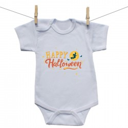 Body s krátkým rukávem Happy Halloween