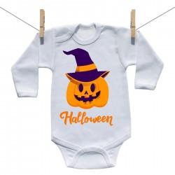 Body s dlouhým rukávem Halloween dýně