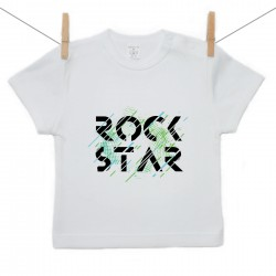 Tričko s krátkým rukávem Rock star