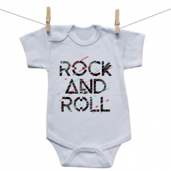 Body s krátkým rukávem Rock and roll