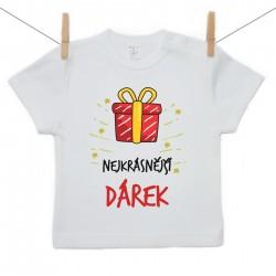 Tričko s krátkým rukávem Nejkrásnější dárek