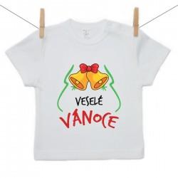 Tričko s krátkým rukávem Veselé Vánoce