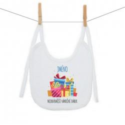Bryndáček na zavazování Nejkrásnější vánoční dárek se jménem dítěte Chlapec