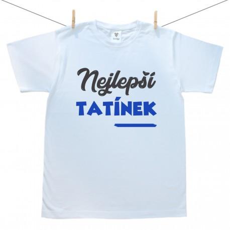 Pánské tričko s krátkým rukávem Nejlepší tatínek