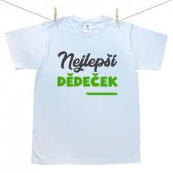 Pánské tričko s krátkým rukávem Nejlepší dědeček