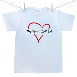 Pánské tričko s krátkým rukávem Nejlepší táta