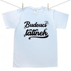Pánské tričko s krátkým rukávem Budoucí tatínek