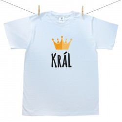 Pánské tričko s krátkým rukávem Král