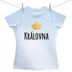 Dámské tričko s krátkým rukávem Královna