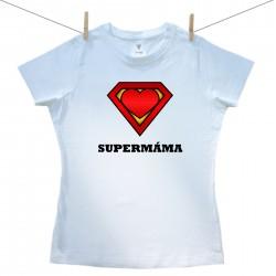 Dámské tričko s krátkým rukávem SuperMáma