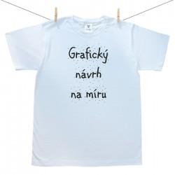 Pánské triko s krátkým rukávem s vlastní grafikou