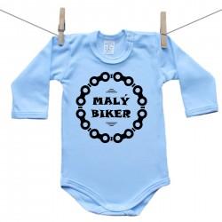 Body s dlouhým rukávem (modré) Malý biker
