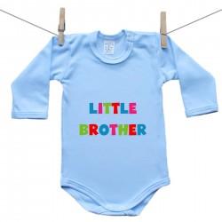 Modré body s dlouhým rukávem Little brother