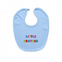 Modrý bryndáček na zapínání Little brother
