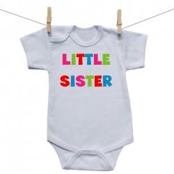 Body s krátkým rukávem Little sister