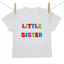 Tričko s krátkým rukávem Little sister