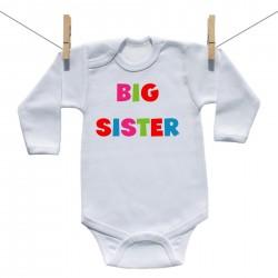 Body s dlouhým rukávem Big sister