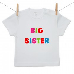 Tričko s krátkým rukávem Big sister