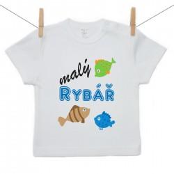 Tričko s krátkým rukávem Malý rybář