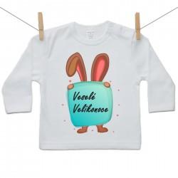 Tričko s dlouhým rukávem Veselé Velikonoce
