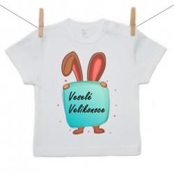 Tričko s krátkým rukávem Veselé Velikonoce