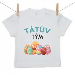 Tričko s krátkým rukávem Tátův tým