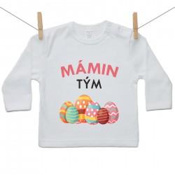 Tričko s dlouhým rukávem Mámin tým