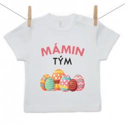 Tričko s krátkým rukávem Mámin tým