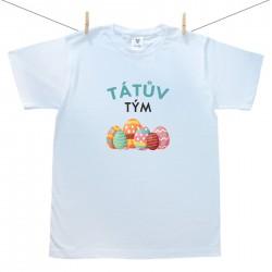 Pánské tričko s krátkým rukávem Tátův tým
