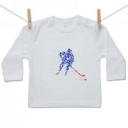 Tričko s dlouhým rukávem Hokejista