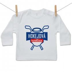 Tričko s dlouhým rukávem Hokejová rodina