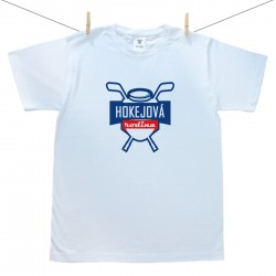 Pánské triko s krátkým rukávem Hokejová rodina