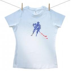 Dámské triko s krátkým rukávem Hokejista