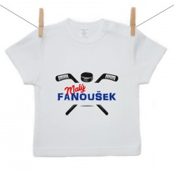 Tričko s krátkým rukávem Malý fanoušek