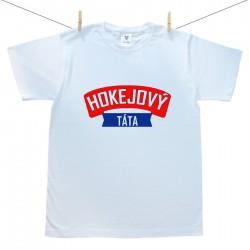 Pánské triko s krátkým rukávem Hokejový táta