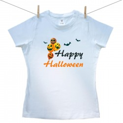 DámskÉ triko s krátkým rukávem Happy Halloween