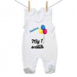 Dupačky Můj 1. svátek se jménem dítěte Medvídek Chlapec